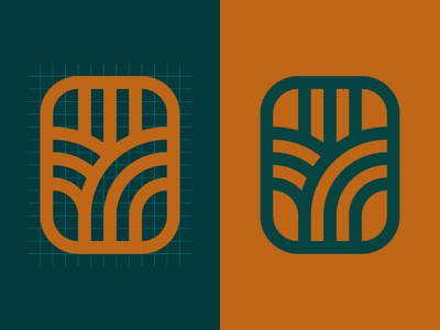 Proof of Concept mark symbol graphic brand design beverage distillery vodka agriculture corn icon field logo