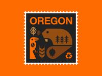 Oregon Stamp