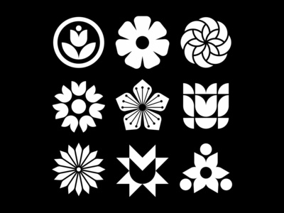 Flower iconography