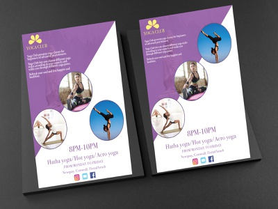 Yoga Flyer Mockup design