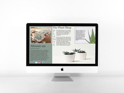 iMac plant shop
