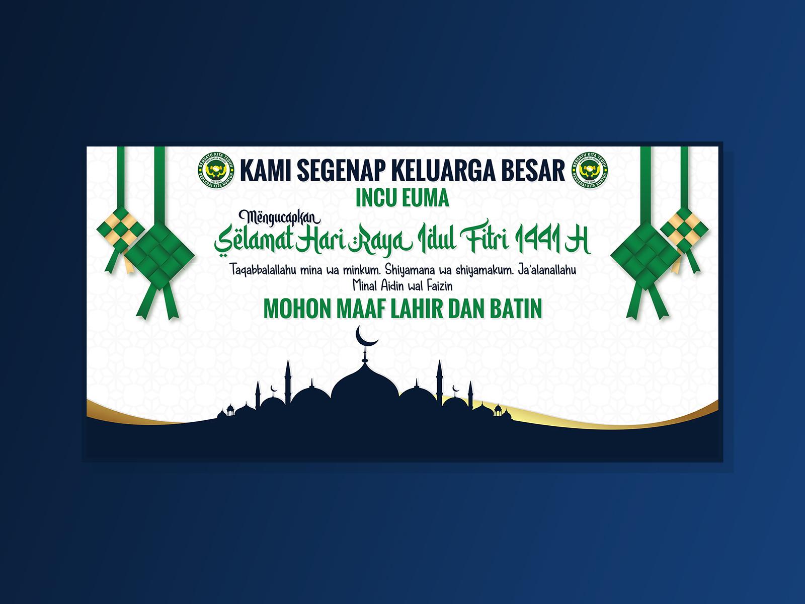 Desain Banner Idul Fitri 1441 H by Muhammad Irfan Fadillah ...
