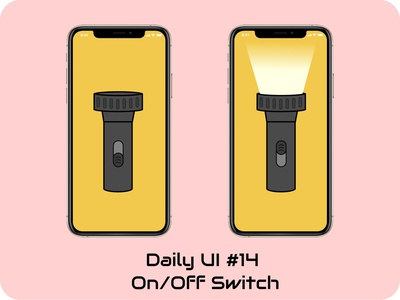 on/off switch onoffswitch dailyui iphone
