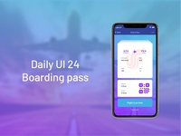 Boarding pass ticket airlines boarding pass ui dailyui