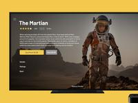 TV app martian tvapp dailyui