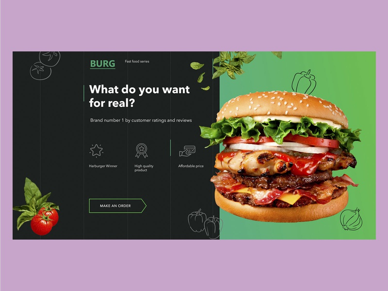 What do you want for real? web design