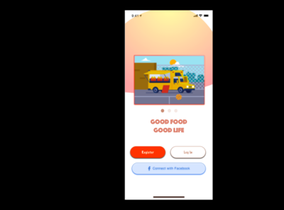 Food | Resturant Application UI animation flat app branding ui sketchapp sketch
