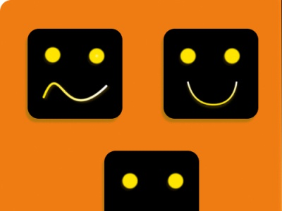 Smiles | Squares  | Square Designs | situnamrit | Flat Design ui flat app design figmadesign flatdesign illustration logo vector figma