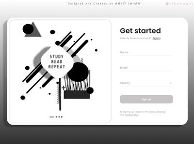 Login Page | UI | Flat Design | Vector Design web branding logo app design flatdesign figma vector app design ui