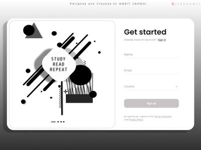Login Frame | Adobe XD Design | Rebound | Design Frame logo web typography animation flat figmadesign branding design ui
