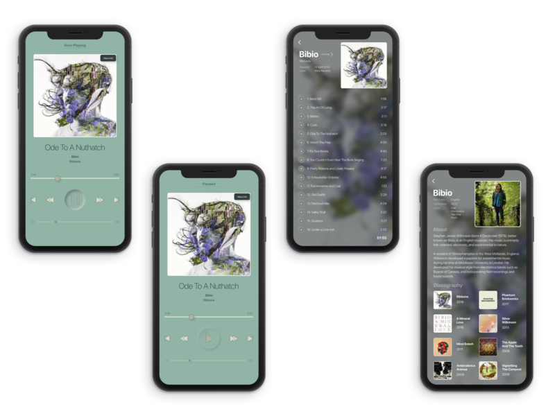Music Player UI Design dribbble dribble designer design app uxui ux  ui uxdesign ux design ux uiux ui  ux uidesign ui design ui