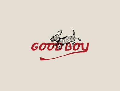 Goodboy Logo Concept vector logo badge logo illustrator badgedesign badge illustration design branding brand identity