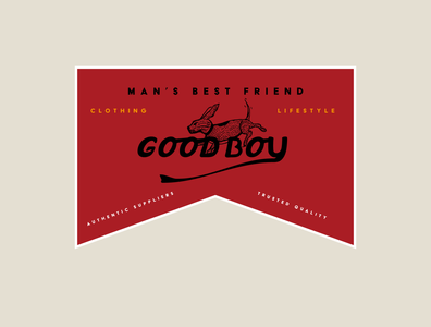 Goodboy Logo Badge Design logo illustrator badge logo badgedesign badge vector illustration design branding brand identity