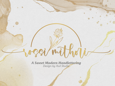 Rossi Mithori - A Sweet Modern Handlettering background