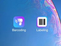 Barcoding & Labeling Icons