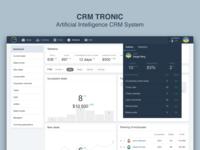 CRM Tronic Statistics Page