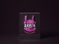 Zefir Coffee Lounge Shopping Bag