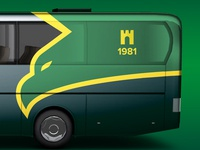 "Design of bus for football club ""Prykarpattia"" (Ivano-Frankivsk)"