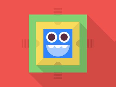 Ziggurat ux graphic design illustration