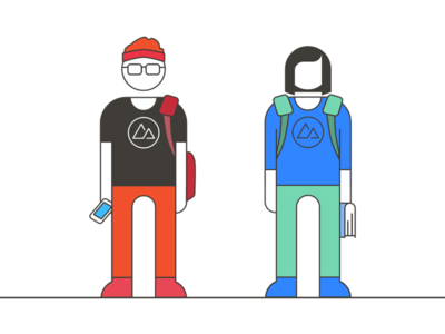 There are TWO types of students! graphic design illustration