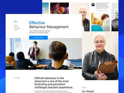 Effective Behaviour Management life coaching life coach web design ui user interface design