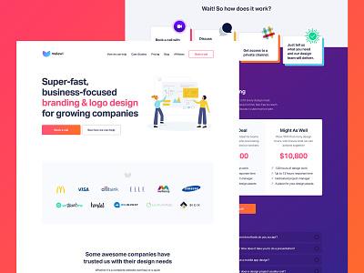 Melewi Growth lottie lottiefiles subscription growth ui design ui user interface design
