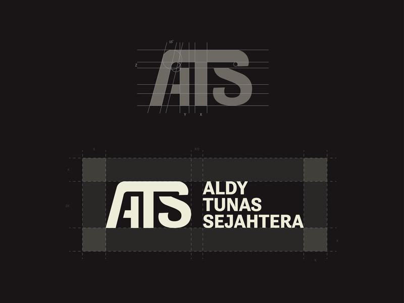Logo Construction for Aldy Tunas Sejahtera logo construction construction logotype logo designs designer company branding company branding brand identity brand