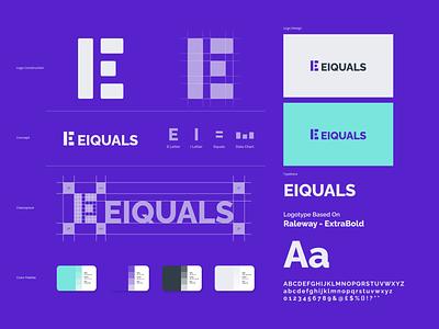 Eiqulas V2 - Brand Identity designer creative freelance growth analytics data chart visual identity branding brand identity brand mark logo