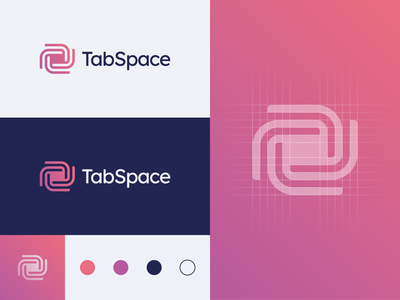 TabSpace - Logo Design engineer software debugging program core galaxy vortex tech logo designer brand brand identity branding logo