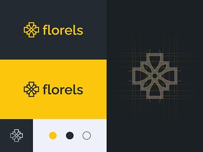 Florels - Logo Design logo mark development game daisy floral flower designer logo designer brand brand identity branding logo