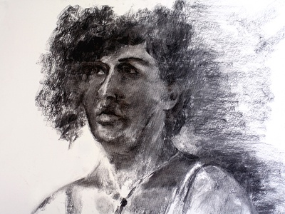 Portrait character design figure drawing monochrome grayscale charcoal drawing drawing black and white woman human face portrait art charcoal portrait drawing portrait