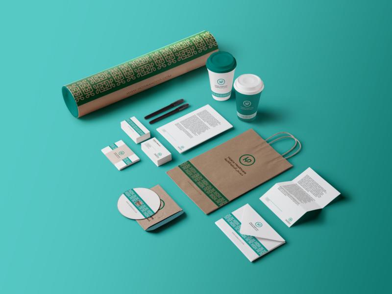 Hosna Healthcare Brand Identity stationery branding design healthcare medical identity design brand design brand identity شعارات logo mark براندينج visual identity branding