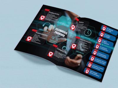 Brochure design brochure design flyer illustrator typography illustration company