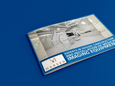 Brochure Cover illustrator typography design business flyer illustration brochure design company