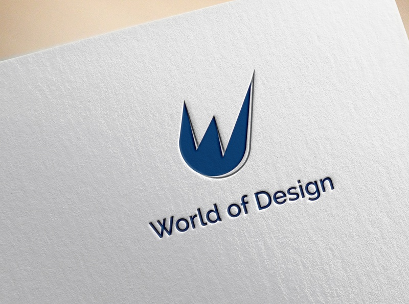 World of Design (Contest) vector company typography design business illustration illustrator logotype