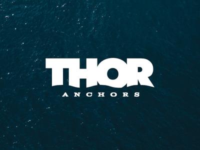 Thor Anchors logo design