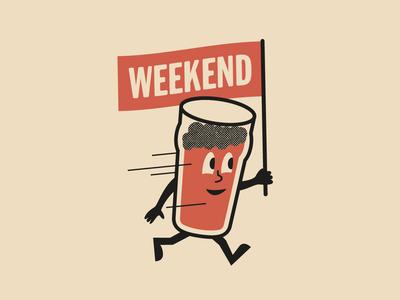 Rushing into weekend