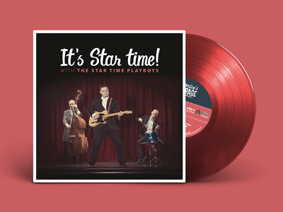 It's Star Time! Vinyl Cover Design