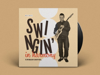 Swingin' In Harmony Record Cover