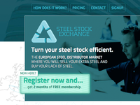 Steel Stock Exchange: header