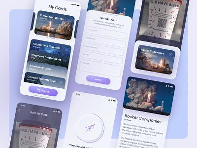 Rocket companies №2 app ui ux product design