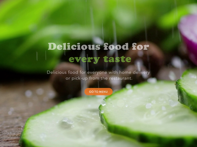 Healthy food delivery service nutritional diet food delivery food order courier delivery service delivery foodie burger animation restaurant web ux ui