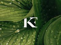 Kristella Branding brandidentitydesign brandidentity brand simple logo negativespace modernlogo minimal logo design branding