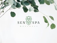 Senspa Branding logodesign graphicdesign brandidentity simple logo minimal modernlogo design logo branding