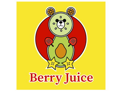 47 of 50 Daily Logo Challenge Juice Company berry juice juice dlc graphic dailylogo dailylogochallenge illustration branding typography logo design