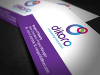 Dikoro Business Card & Logo