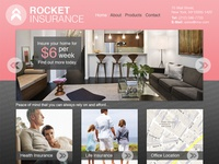 Rocket Insurance Website