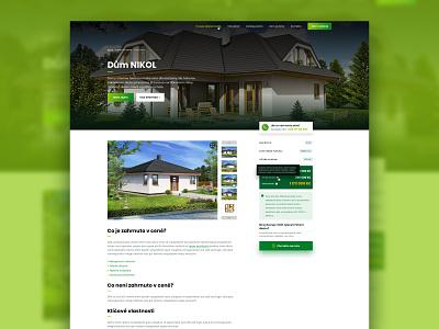 Veritas Stavby – detail page web website ux ui template theme clean ux design ui design web developer wordpress theme wordpress design wordpress
