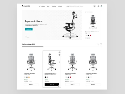 Chairyfy minmal frontend developer ux designer inspiration theme idea ui design idea ui design chair design wordpress woocommerce theme office chair