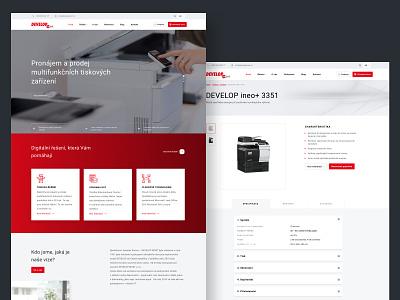 Developmost gdpr design web printer ui  ux web designer website wordpress theme wordpress